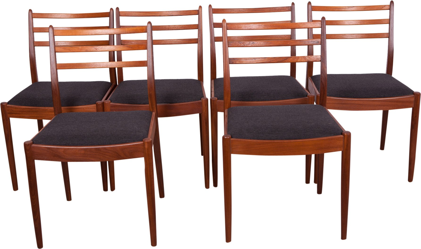 Set of Six Chairs by V. Wilkins, G- Plan, Great Britain, 1960s