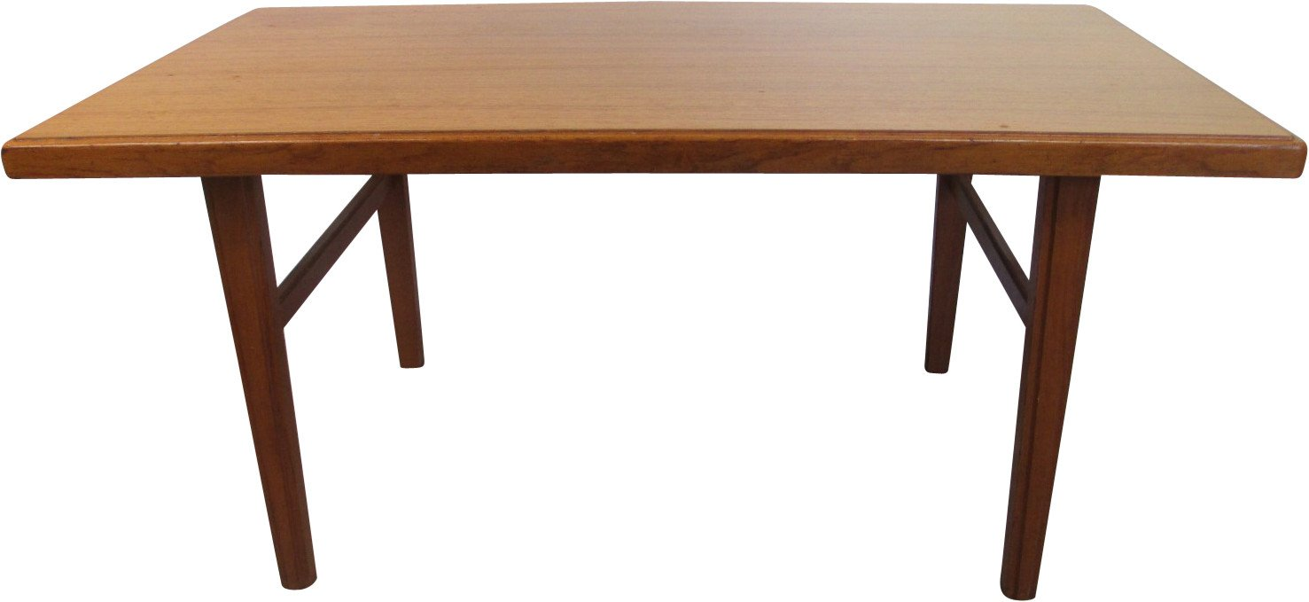 Teak Coffee Table, Denmark, 1970s
