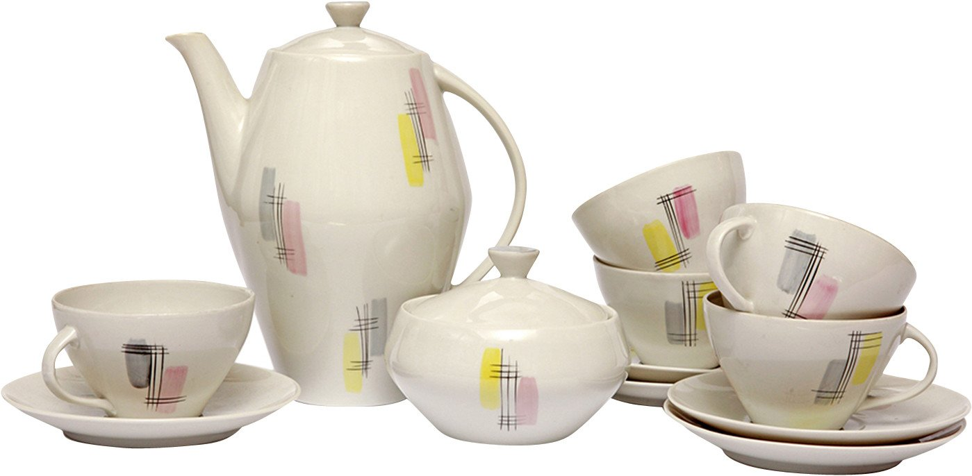 Joanna Coffee Service by W. Potacki, Karolina, Poland, 1950s