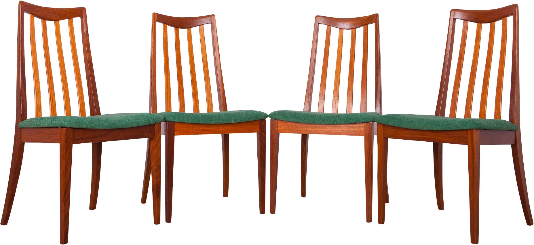 Set of Four Chairs by L. Dandy for G-Plan, United Kingdom, 1960s