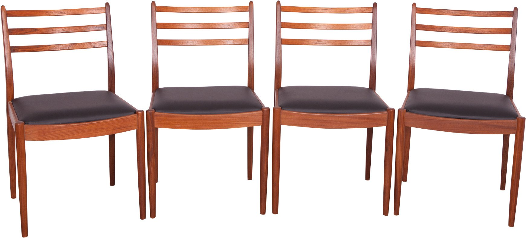 Set of Four Chairs by V. Wilkins for G-Plan, Great Britain, 1960s
