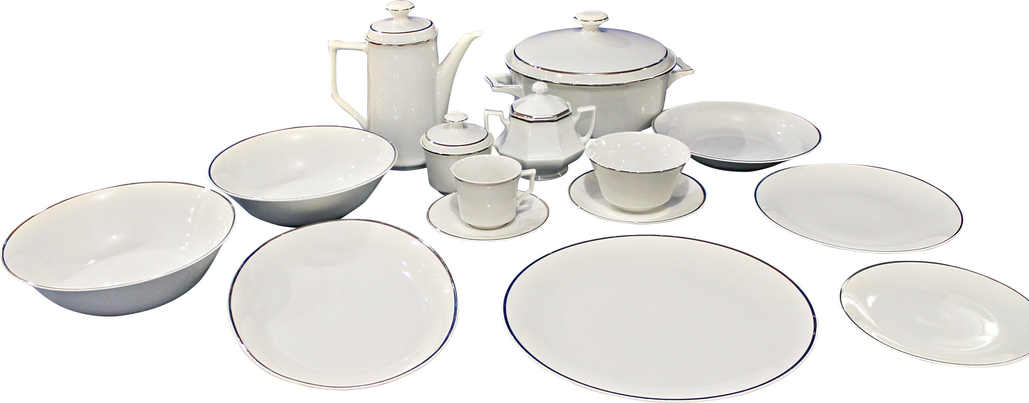 Dinnerware Set, Kronester Bavaria, Germany, 1930s