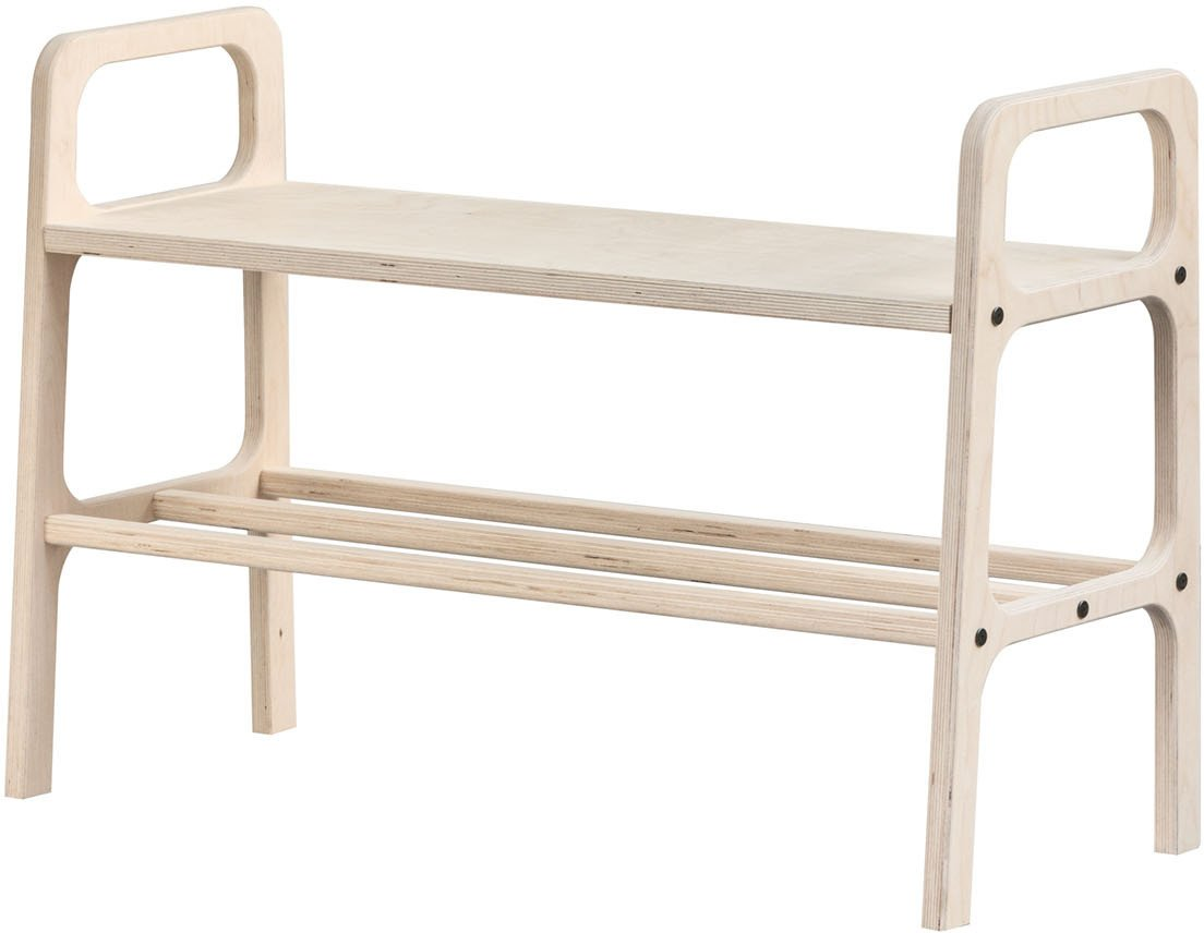 Light Brown Frisk Bench, Plywood Project
