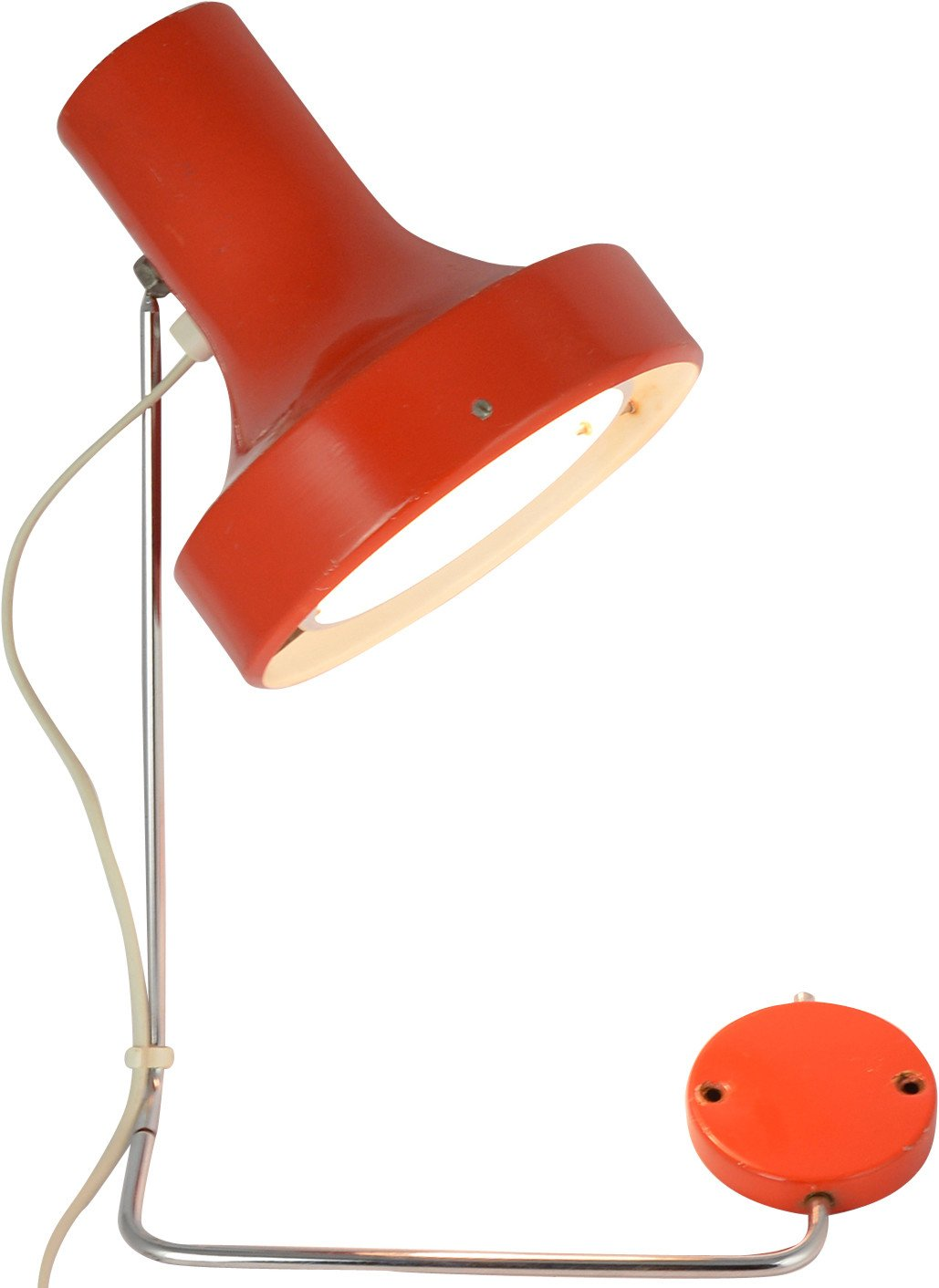 Wall Lamp by J. Hurka for Napako, Czechoslovakia, 1960s