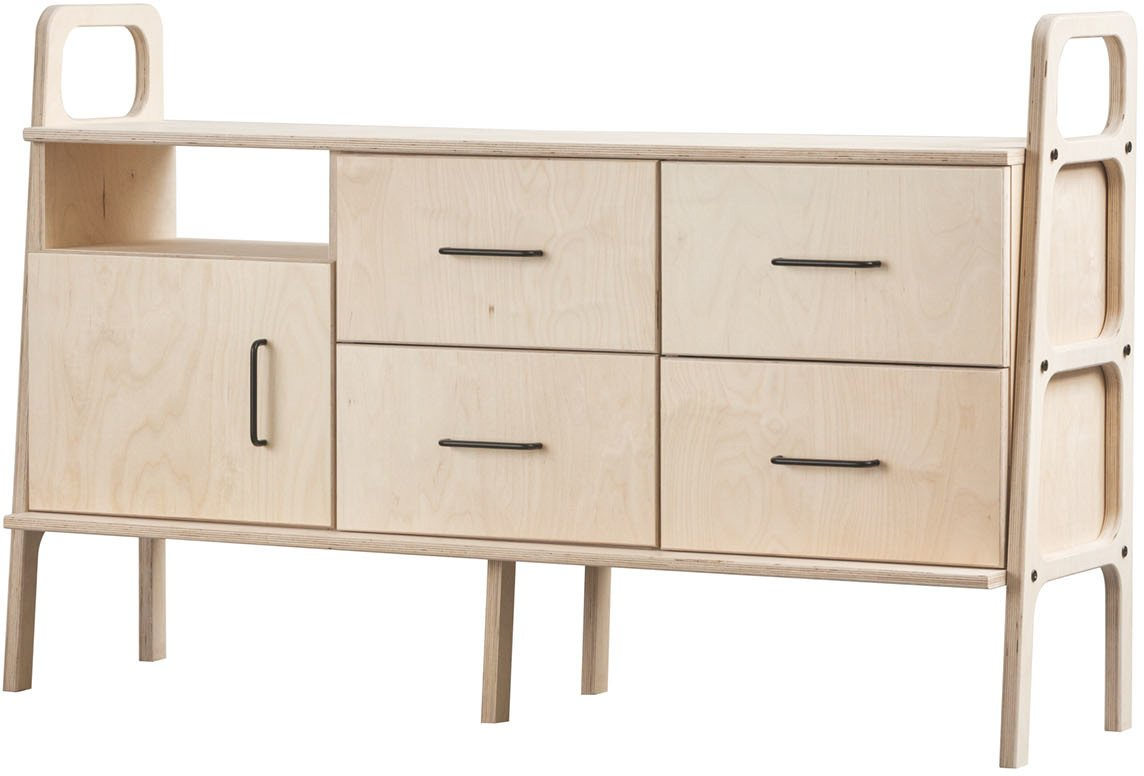 Sideboard Frisk 460 IV jasnobrązowy, Plywood Project