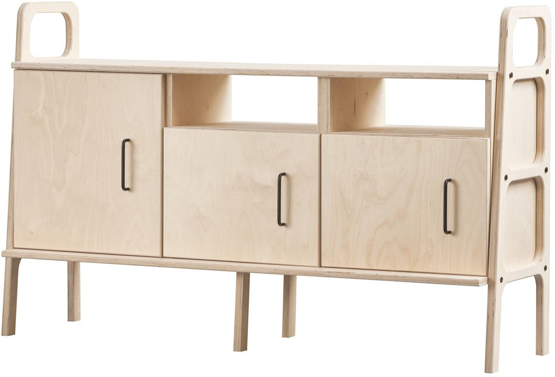 Sideboard Frisk 460 VI jasnobrązowy, Plywood Project