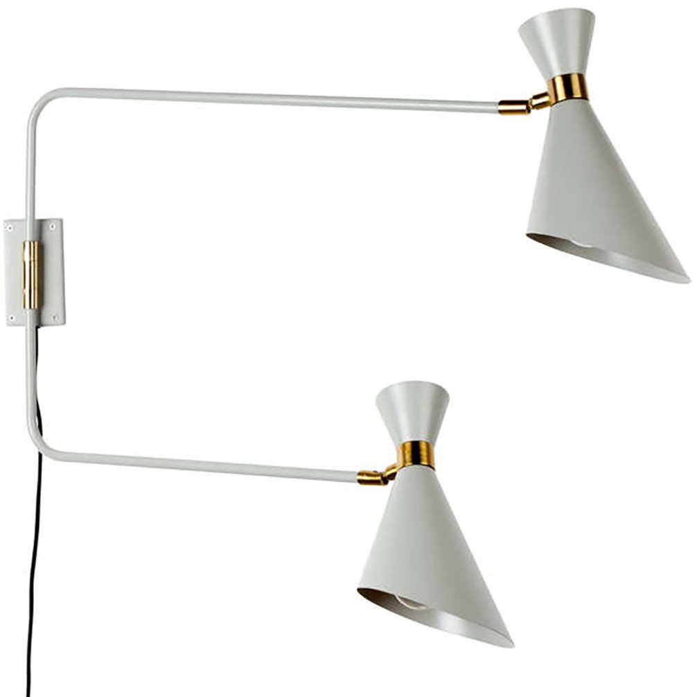 Sconces Double Shady Grey , Zuiver - 461935 - photo