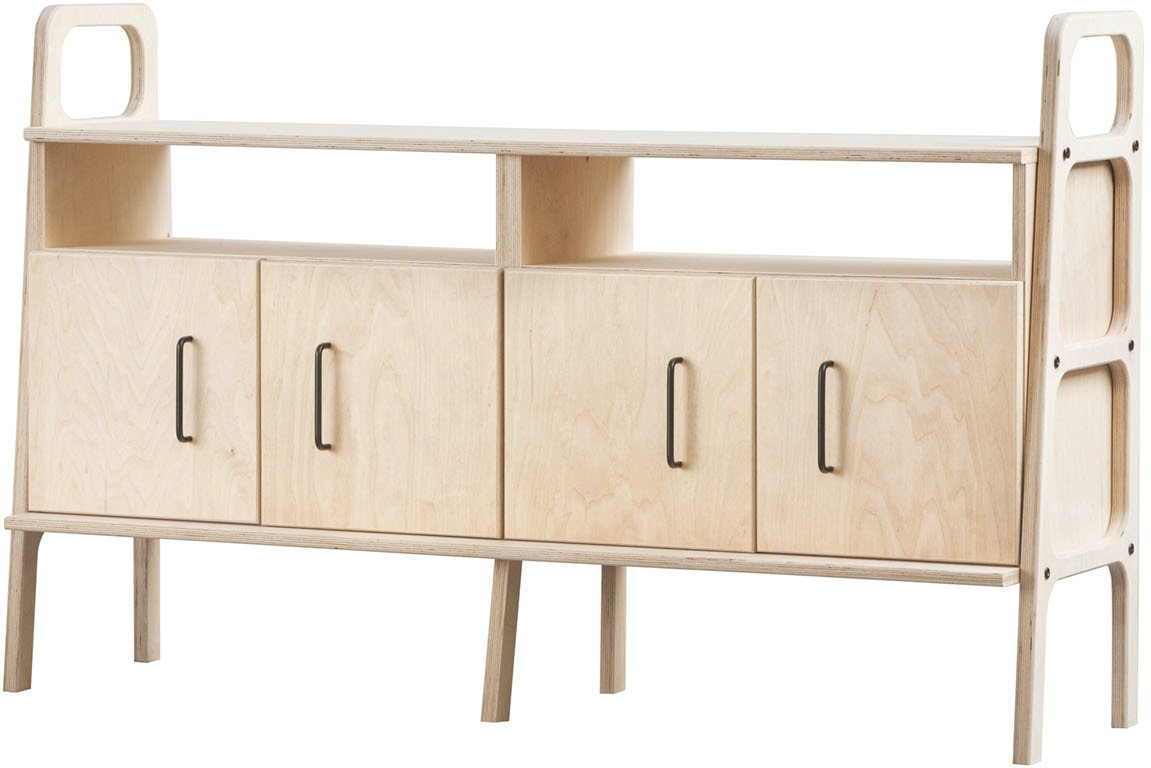 Sideboard Frisk 690 III, Plywood Project