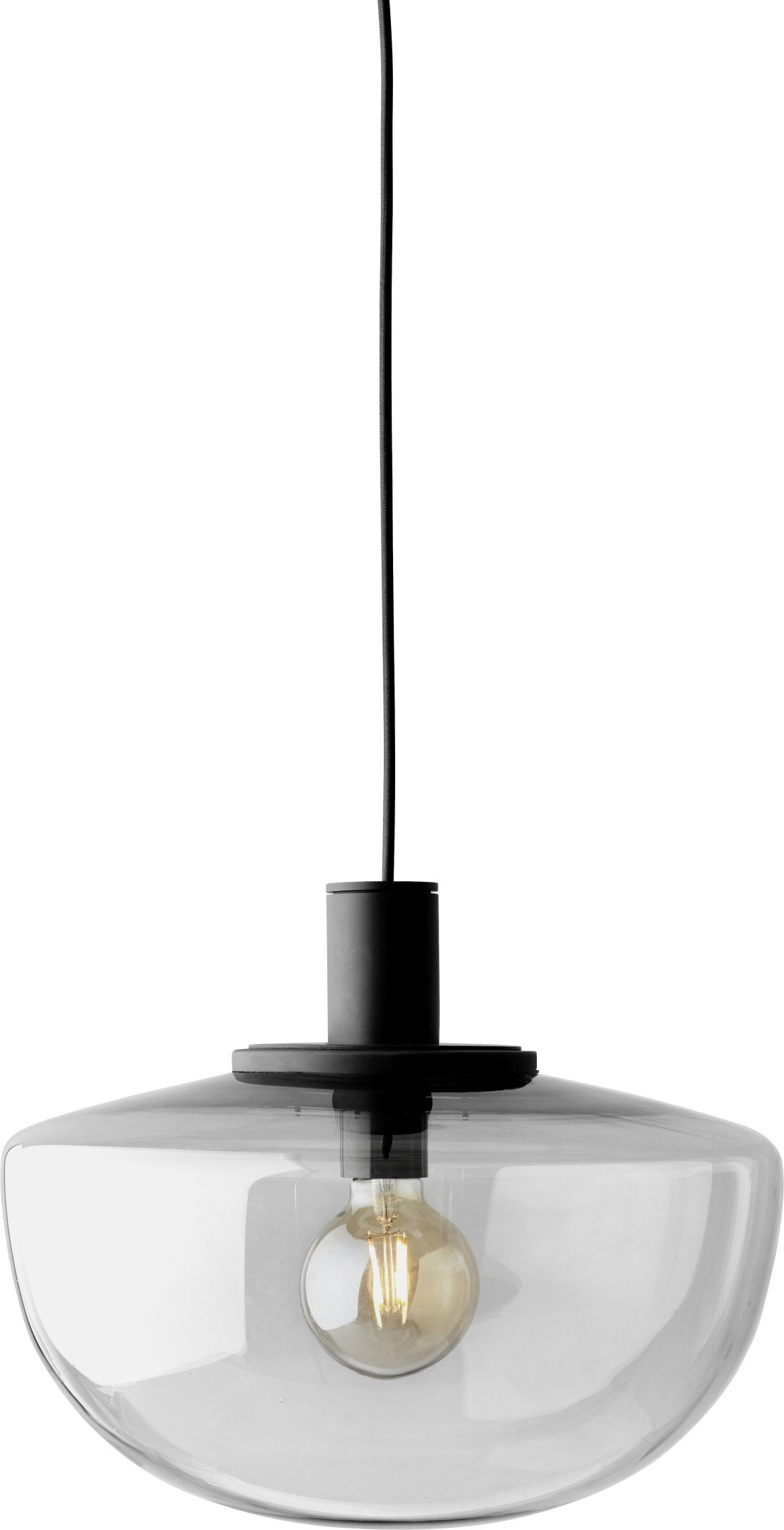 Bank Pendant Lamp Smoke by Norm Architects for Menu