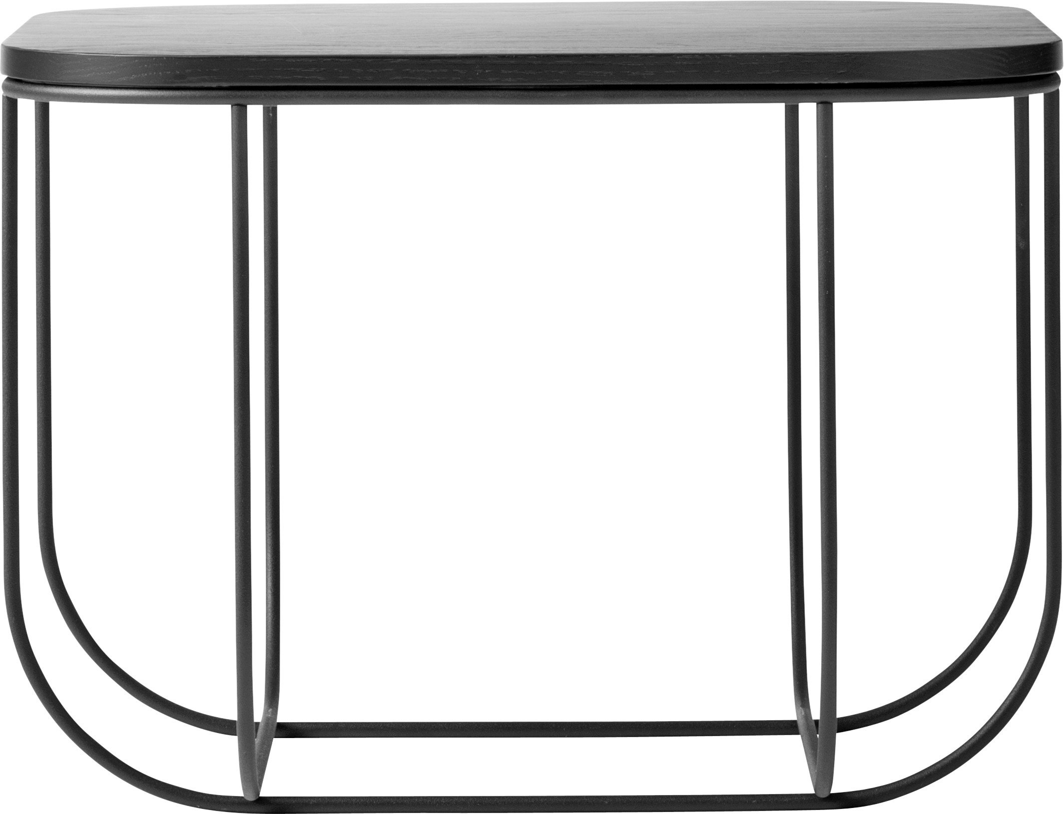 Cage Table Black/Black Ash by Form Us WIth Love for Menu