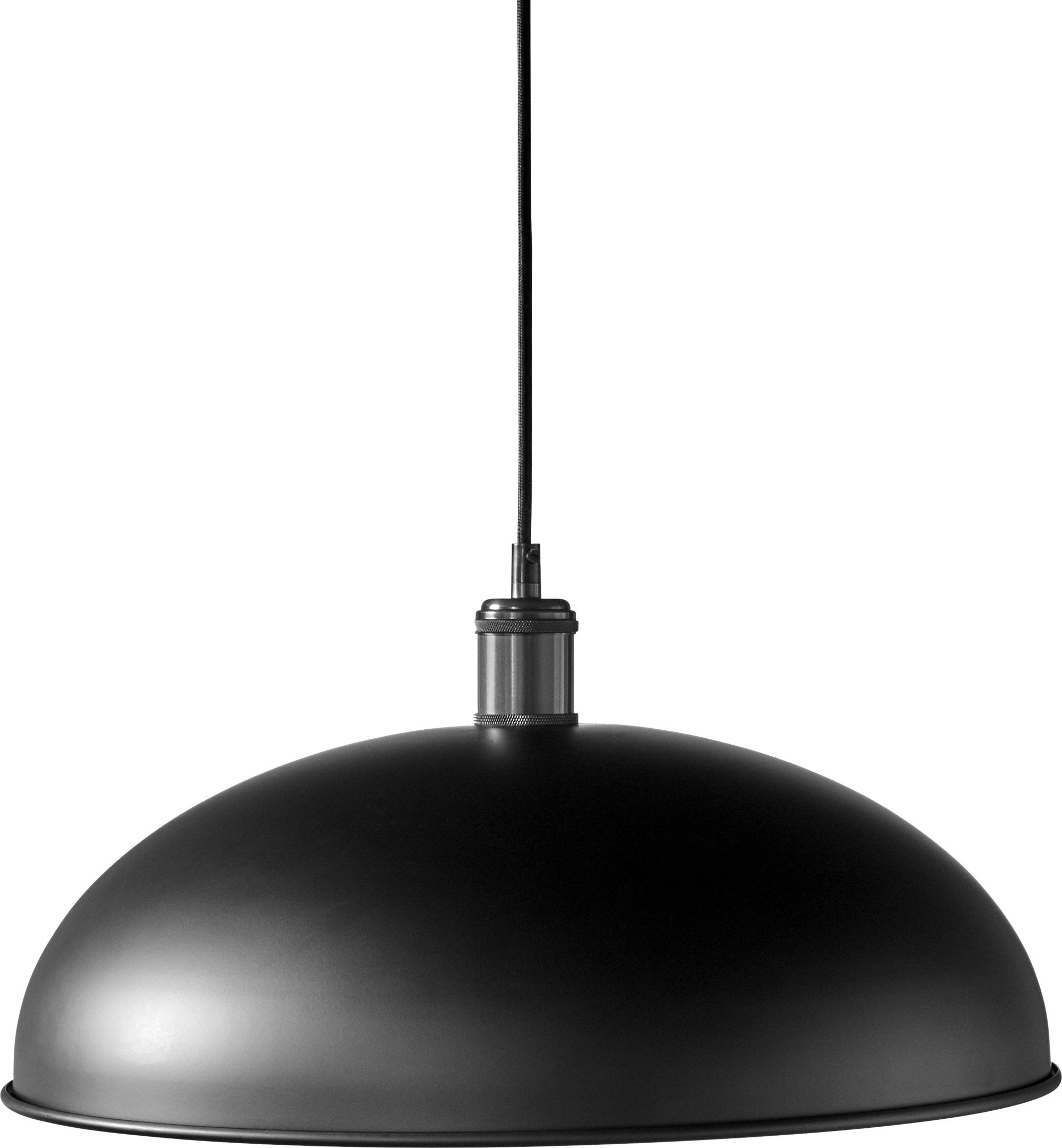 Lampa Hubert Black/Bronzed Brass Ø 45 cm, proj. Soren Rose Studio, Menu