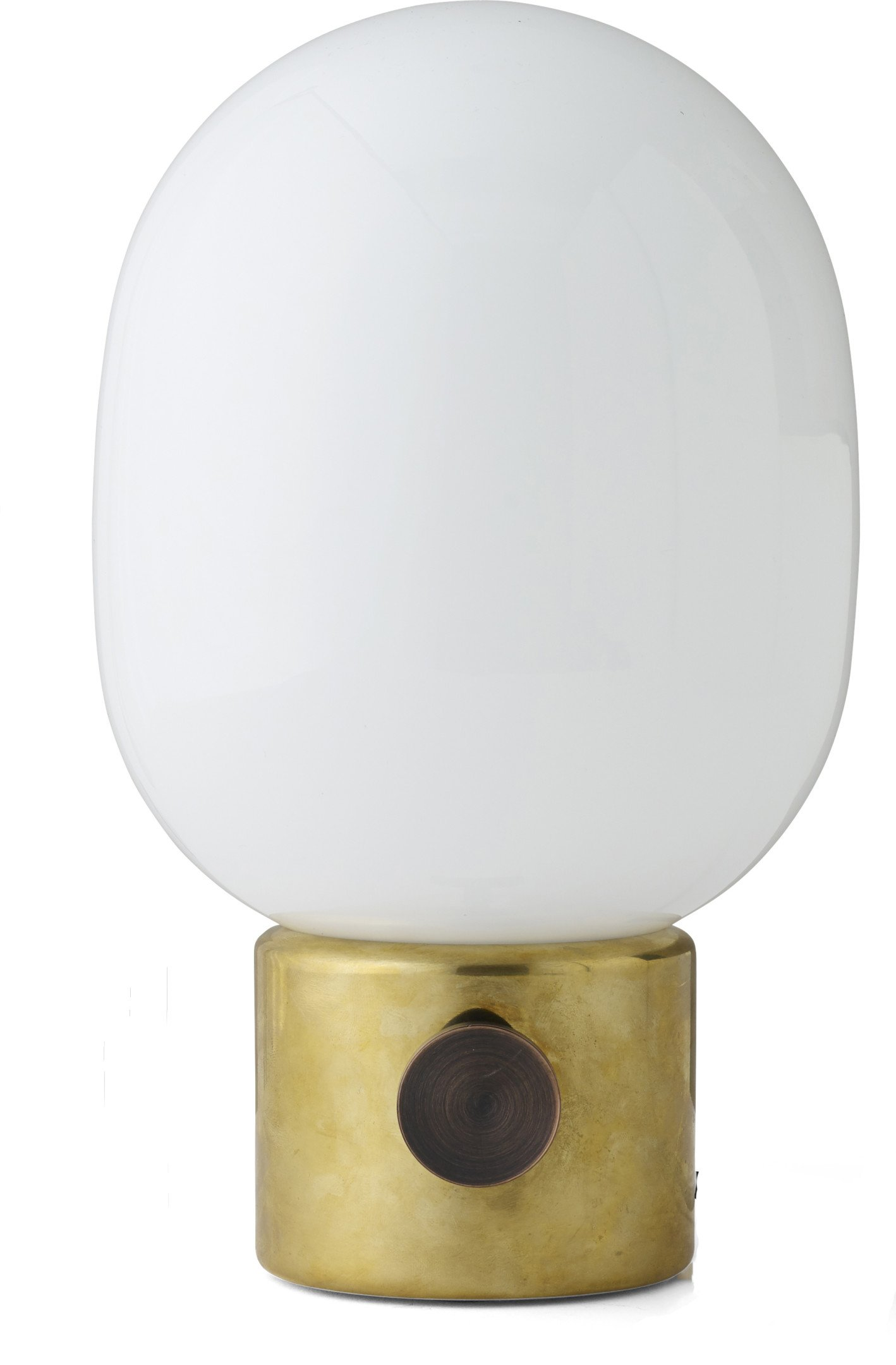 JWDA Lamp Mirror Polished Brass by J. Wagell for Menu