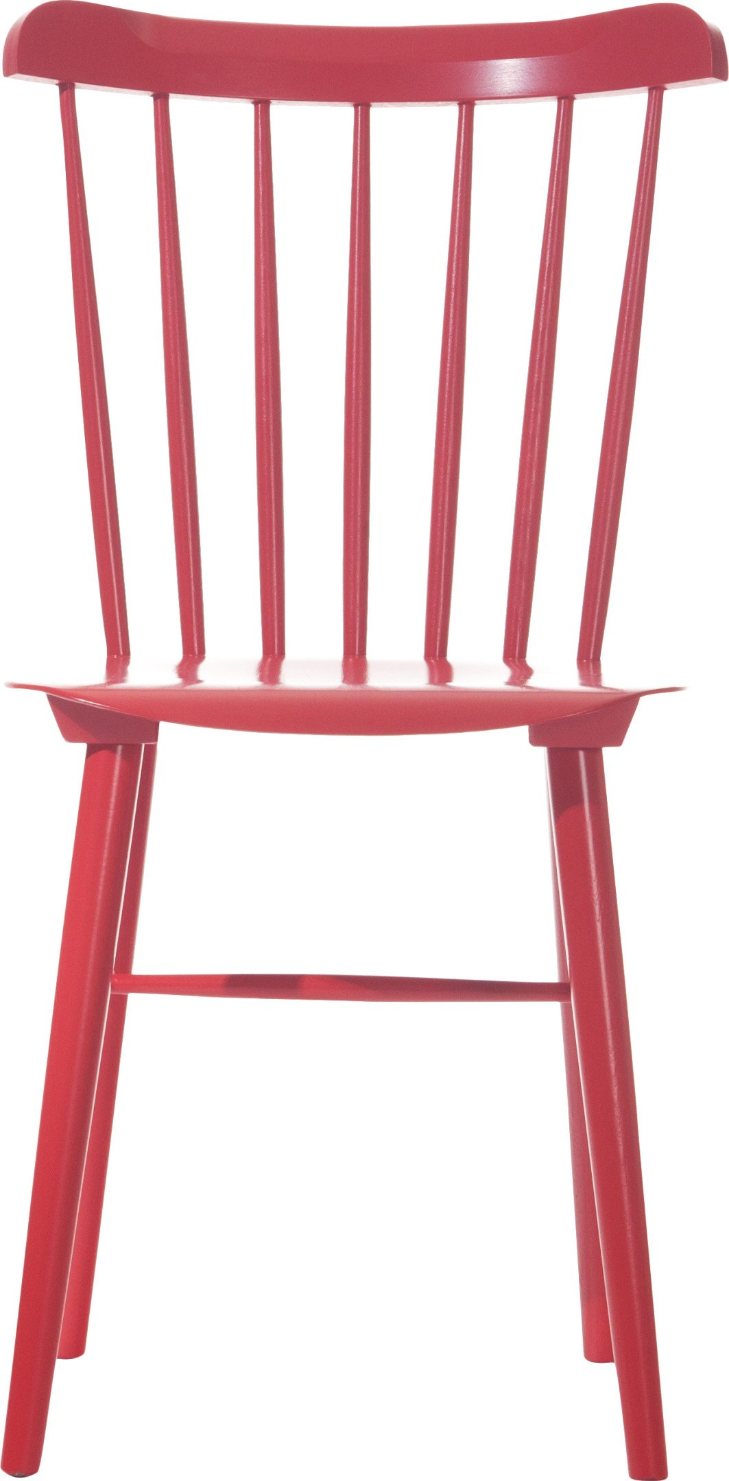 Ironica Chair Ruby Red beech, TON