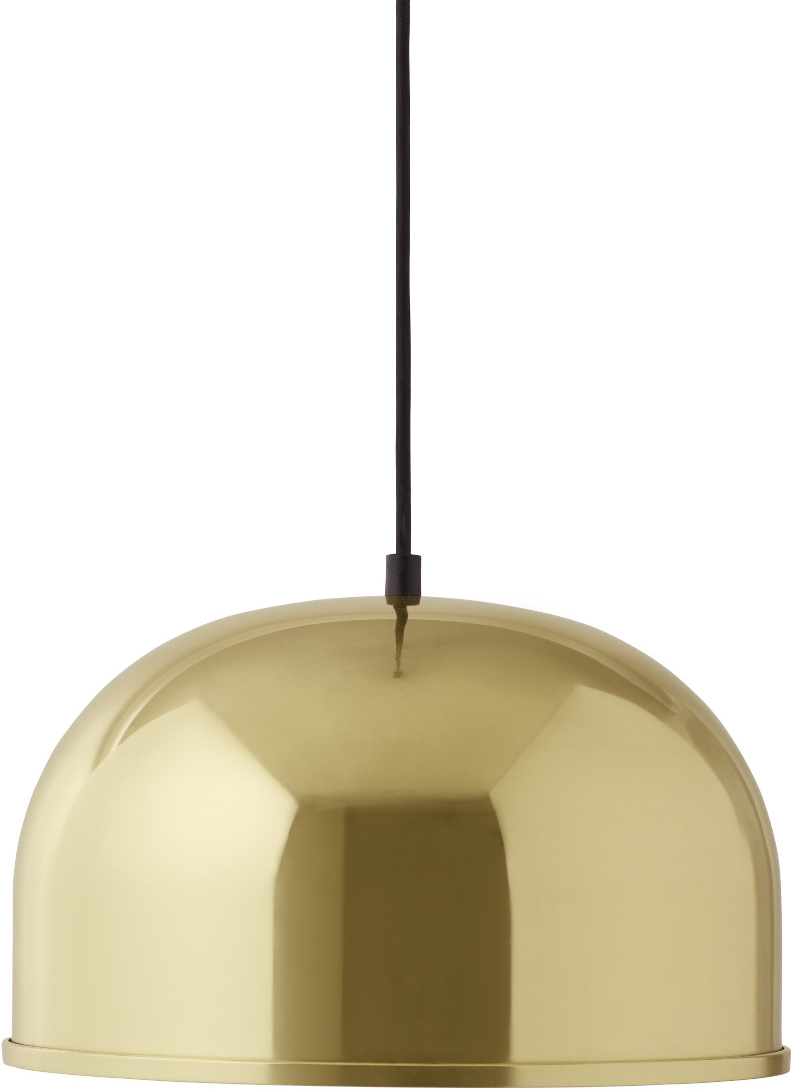 Lampa GM Brass Ø 30cm, proj. Grethe Meyer, Menu