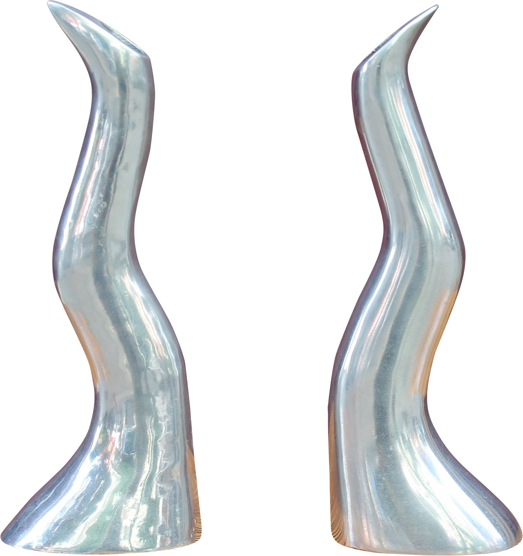Pair of Candleholder by A. Efwerlund, Sweden, 1970s