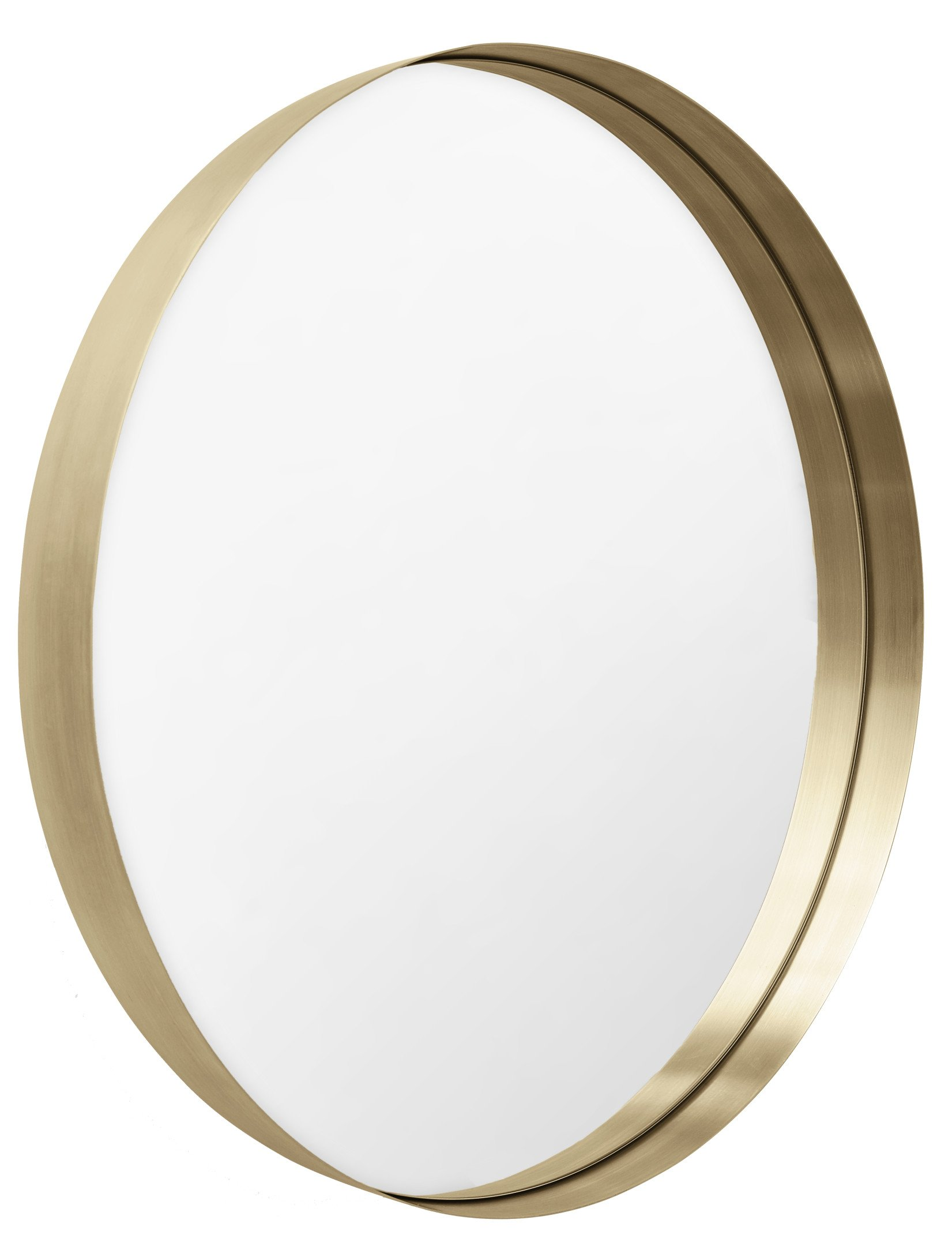 Darkly Mirror Brushed Brass S by N. Ross for Menu