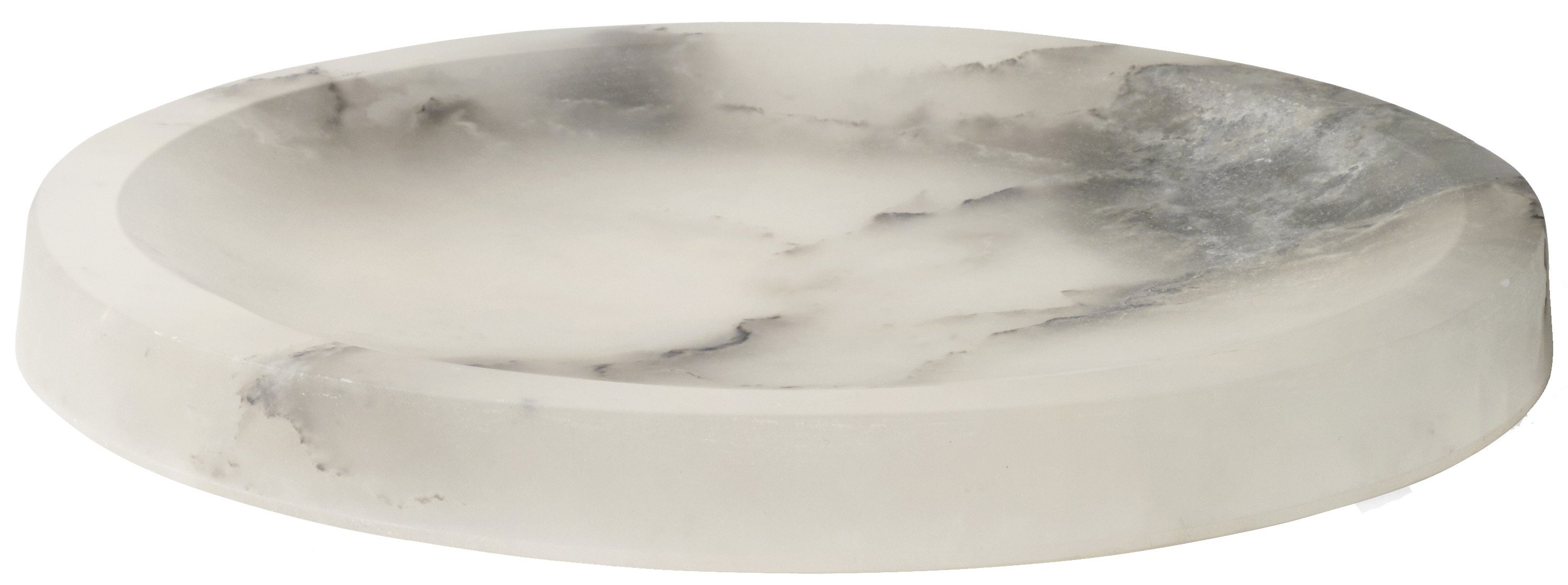 Circular Bowl Alabaster by A. Lixfeld for Menu