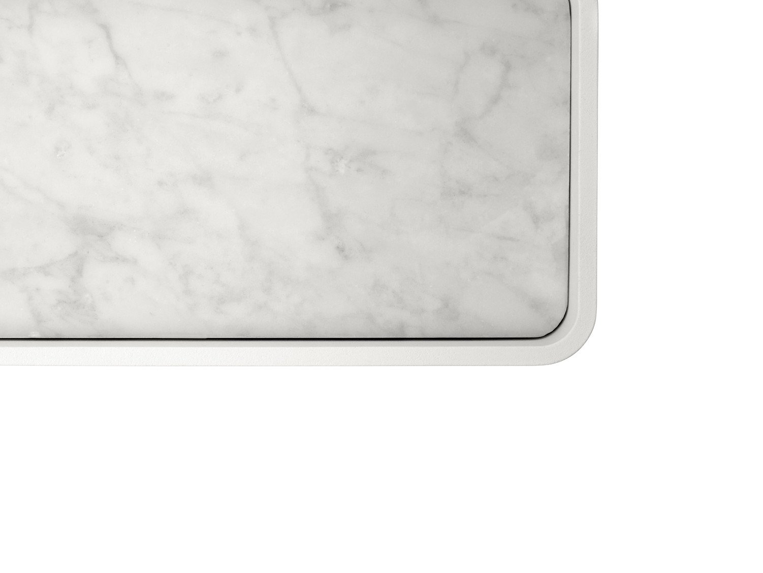 Shower Tray White Marble by Norm Architects for Menu