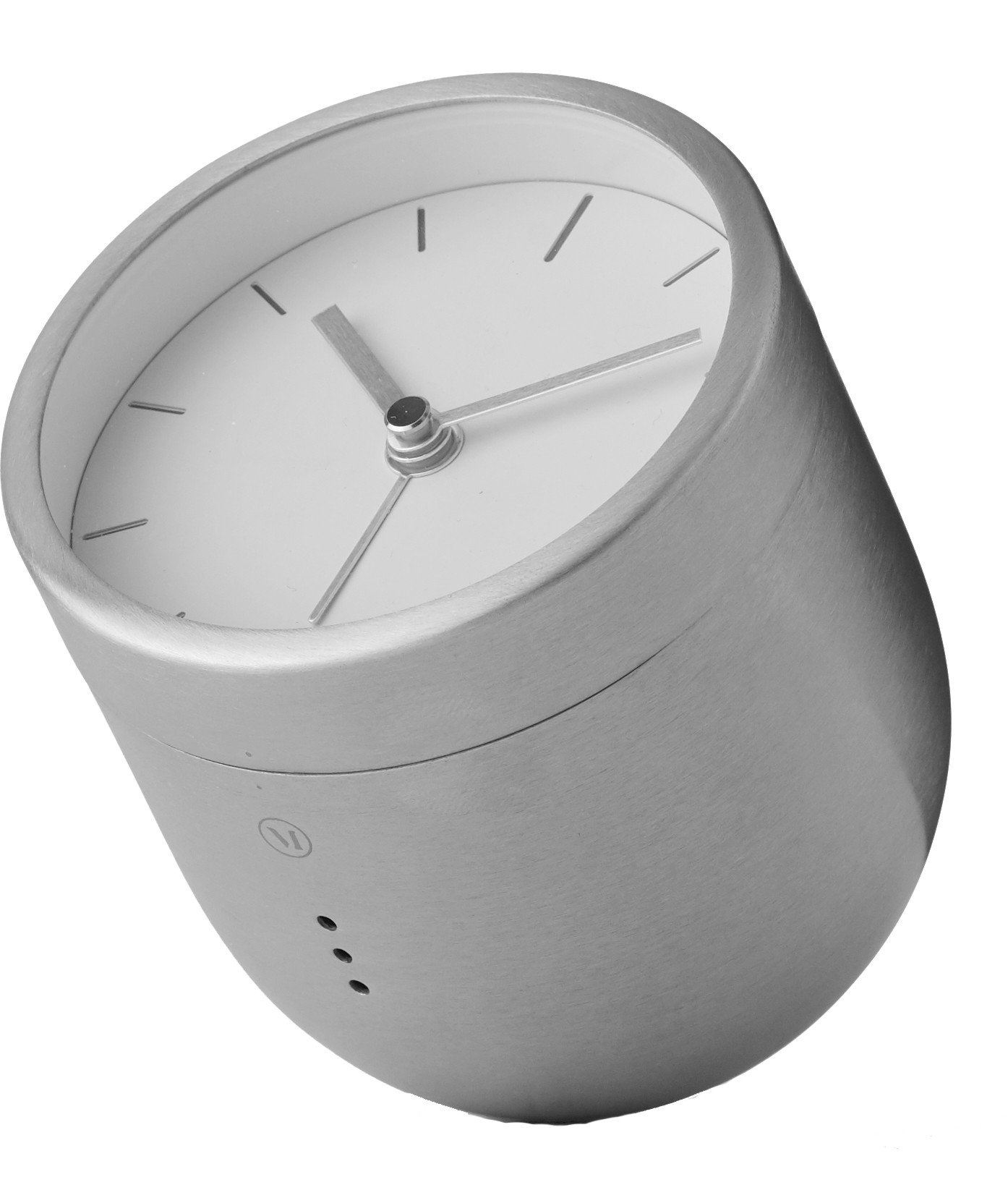 Tumbler Alarm Clock Steel by Norm Architects for Menu