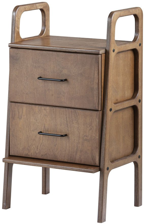 Acacia Frisk Mini Slim Cabinet with Drawers, Plywood Project