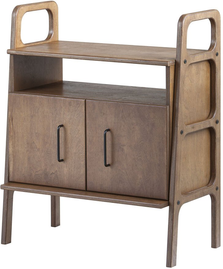 Acacia Frisk Mini open Cabinet, Plywood Project