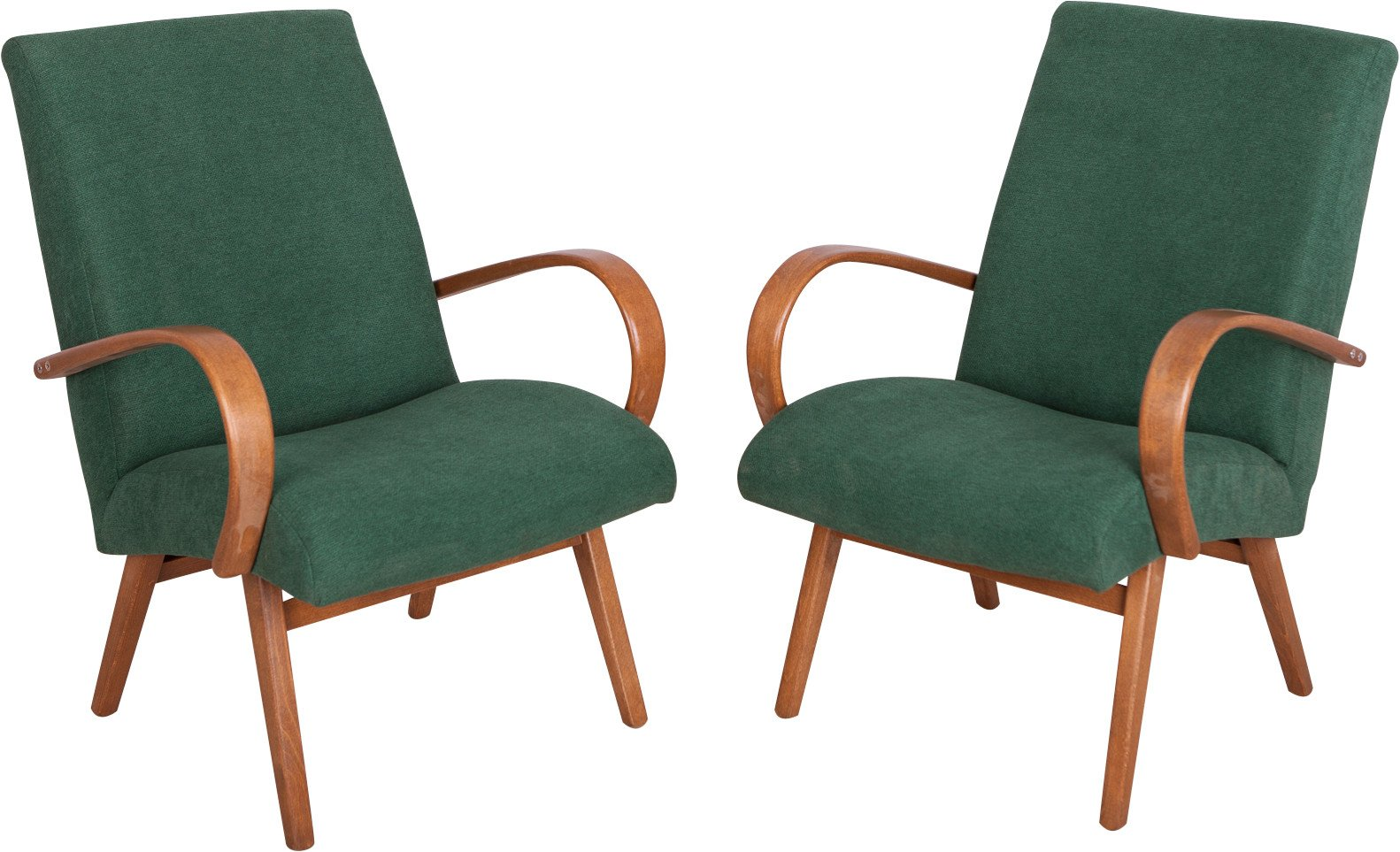 Pair of Armchairs, TON, Czechoslovakia, 1960s