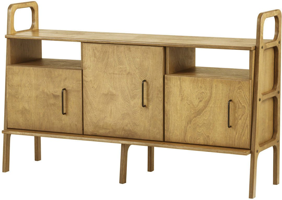 Oak Frisk 460 VI Sideboard, Plywood Project