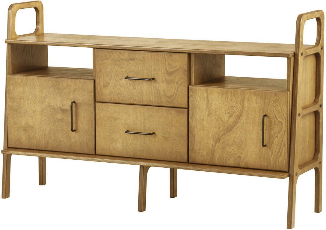 Oak Frisk 460 V Sideboard, Plywood Project