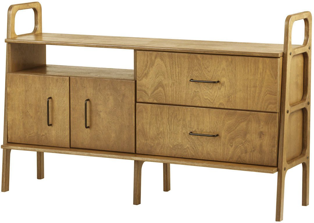 Oak Frisk 690 V Sideboard, Plywood Project