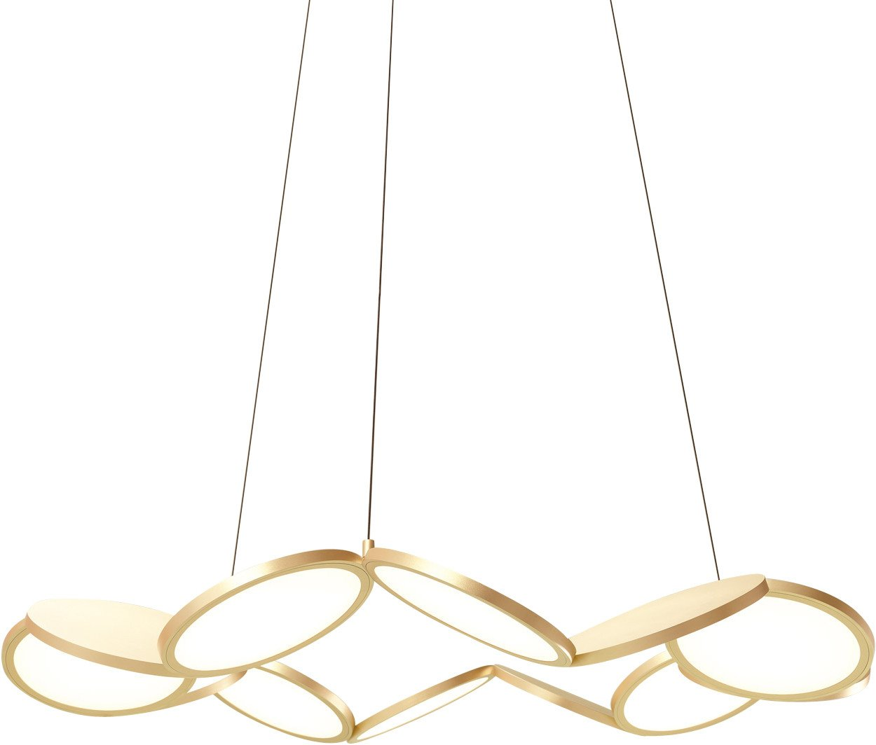 Chandelier Samara Lamp gold, Luum