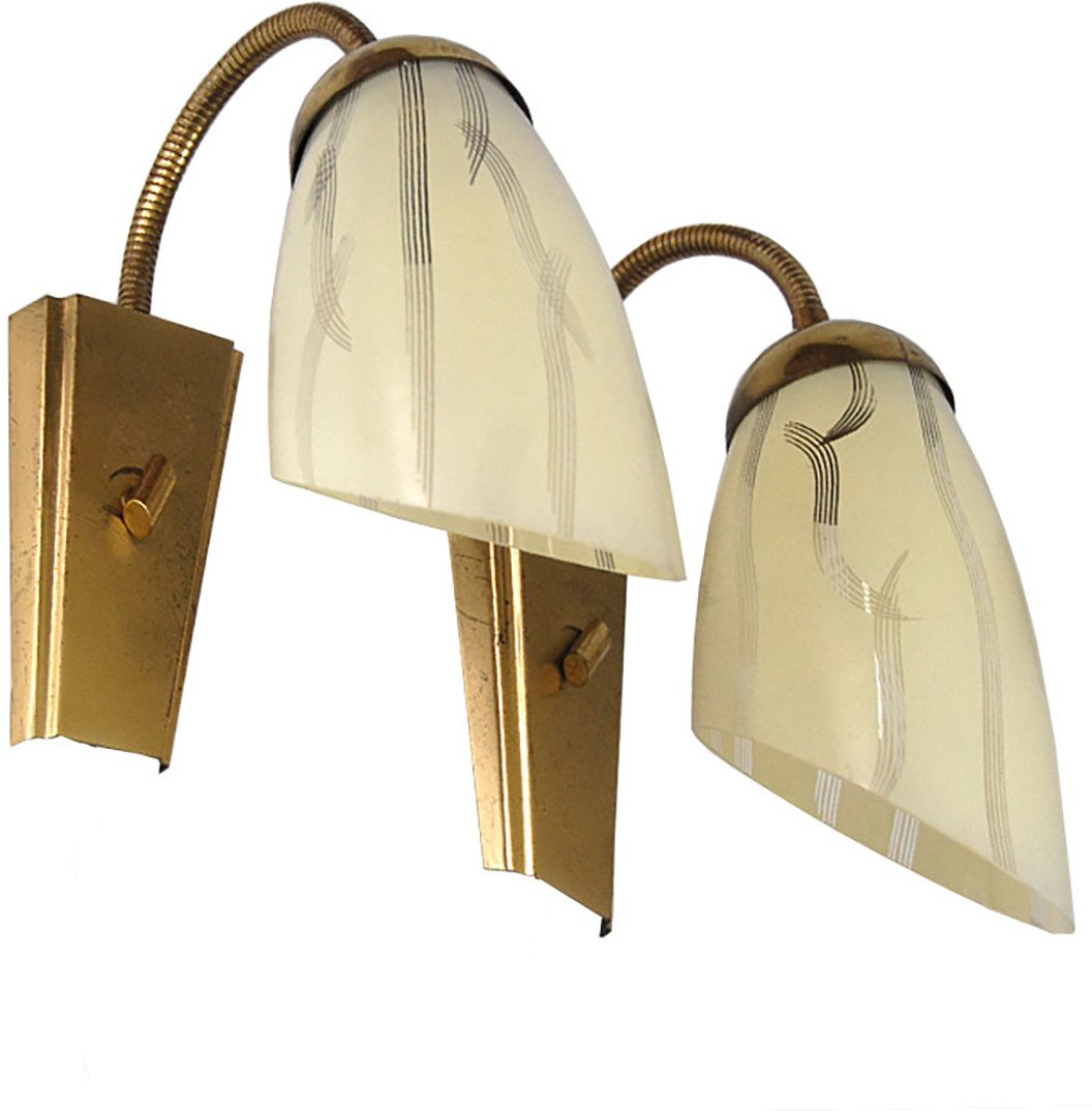 Wall Lamp, Germany, 1960s