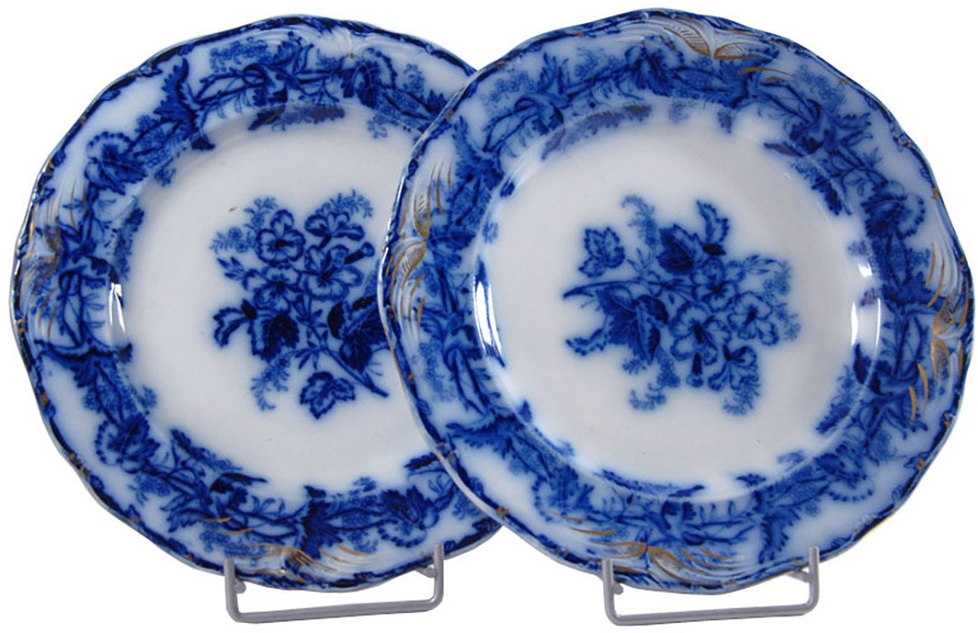 Pair of Plates, Belgium, 19th C.