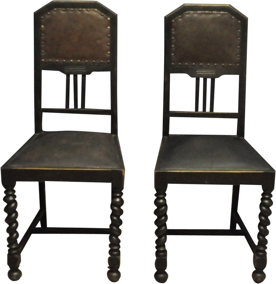 Pair of Chairs, Denmark, 1930s