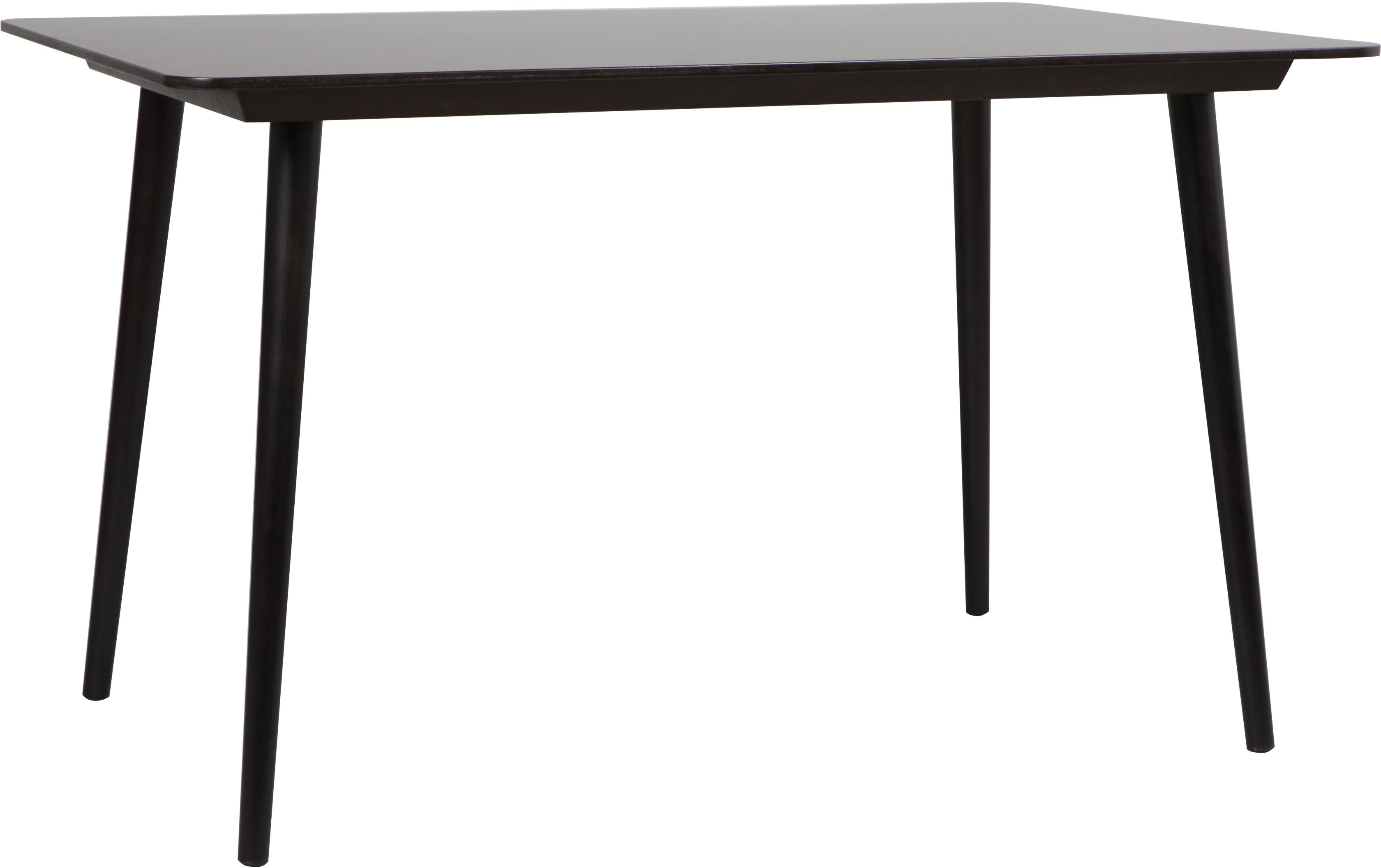 Beech Black Grain Ironica Table 80x120, TON