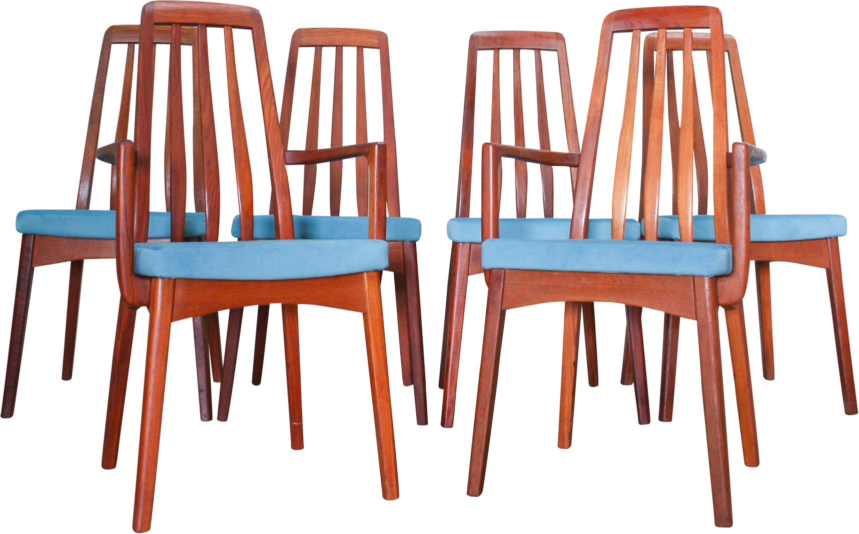 Set of Six Chairs, Sweden, 1960s