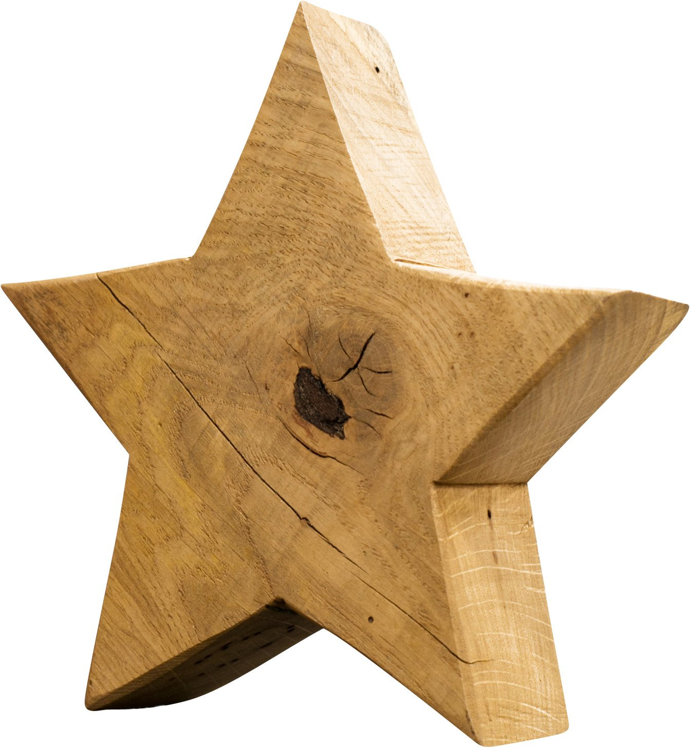 Oak Decorative Figurine Star 20