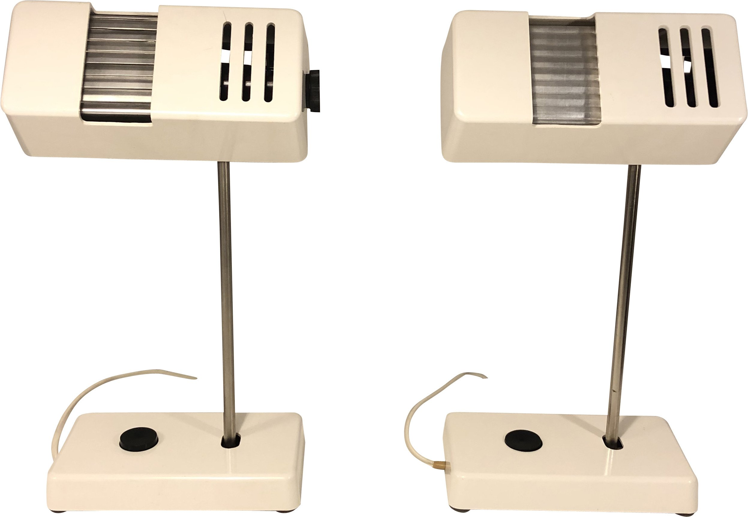 Pair of Desk Lamps, Germany, 1970s