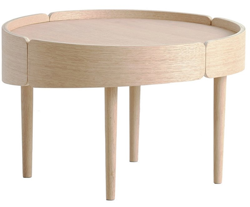 Skirt Coffee Table by M. Laakkonen for WOUD