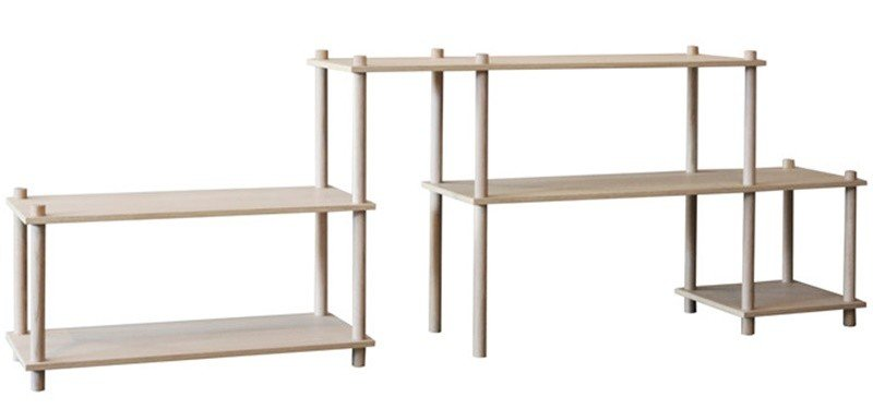 Elevate Shelving System 8 by C. Akersveen and C. Konings for WOUD
