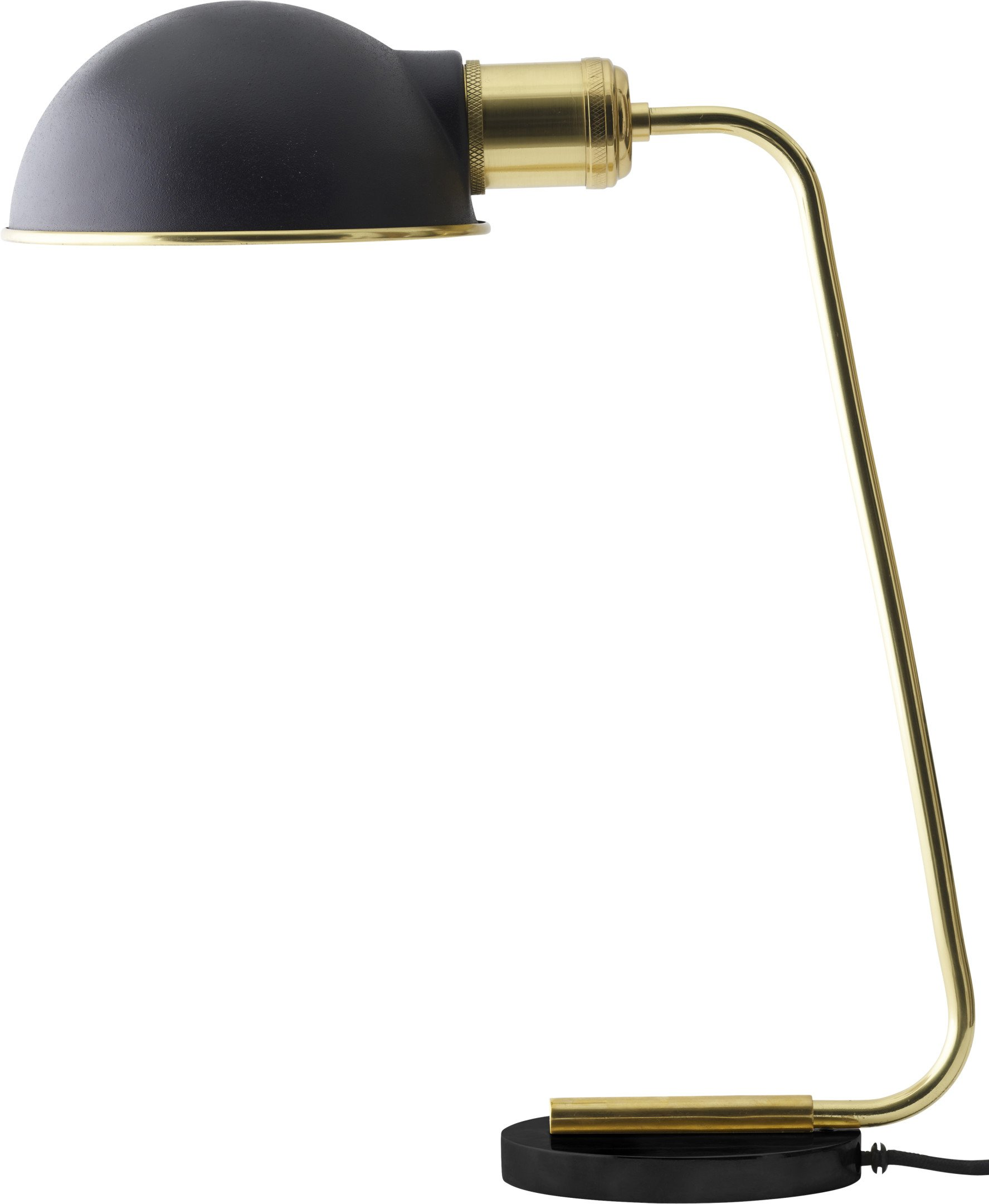 Collister Brass Table Lamp by Soren Rose Studio, Menu