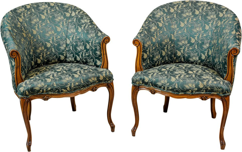 Pair of Armchairs, Netherlands, 1970s