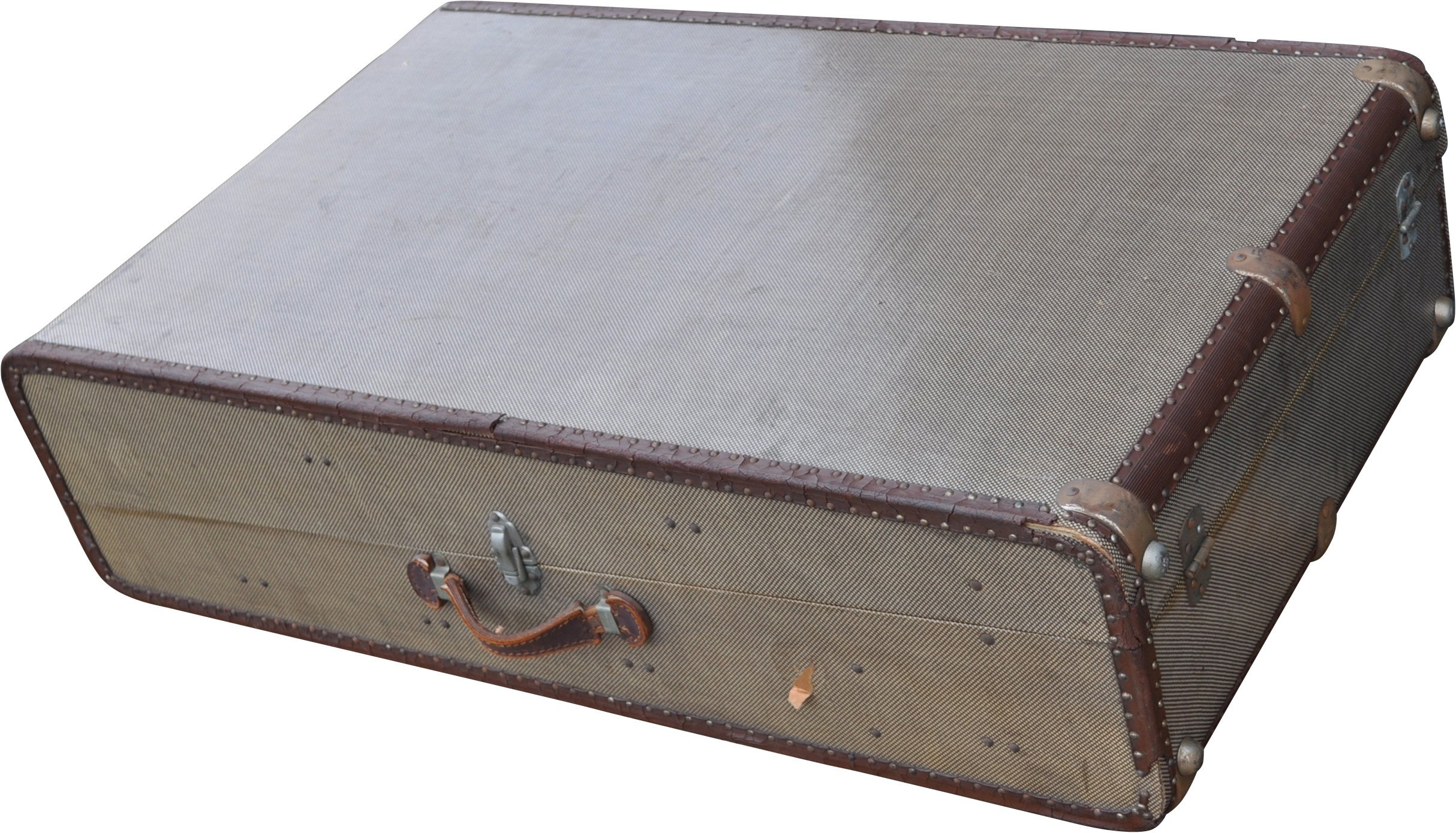 Suitcase, Hepco, early 20th C.