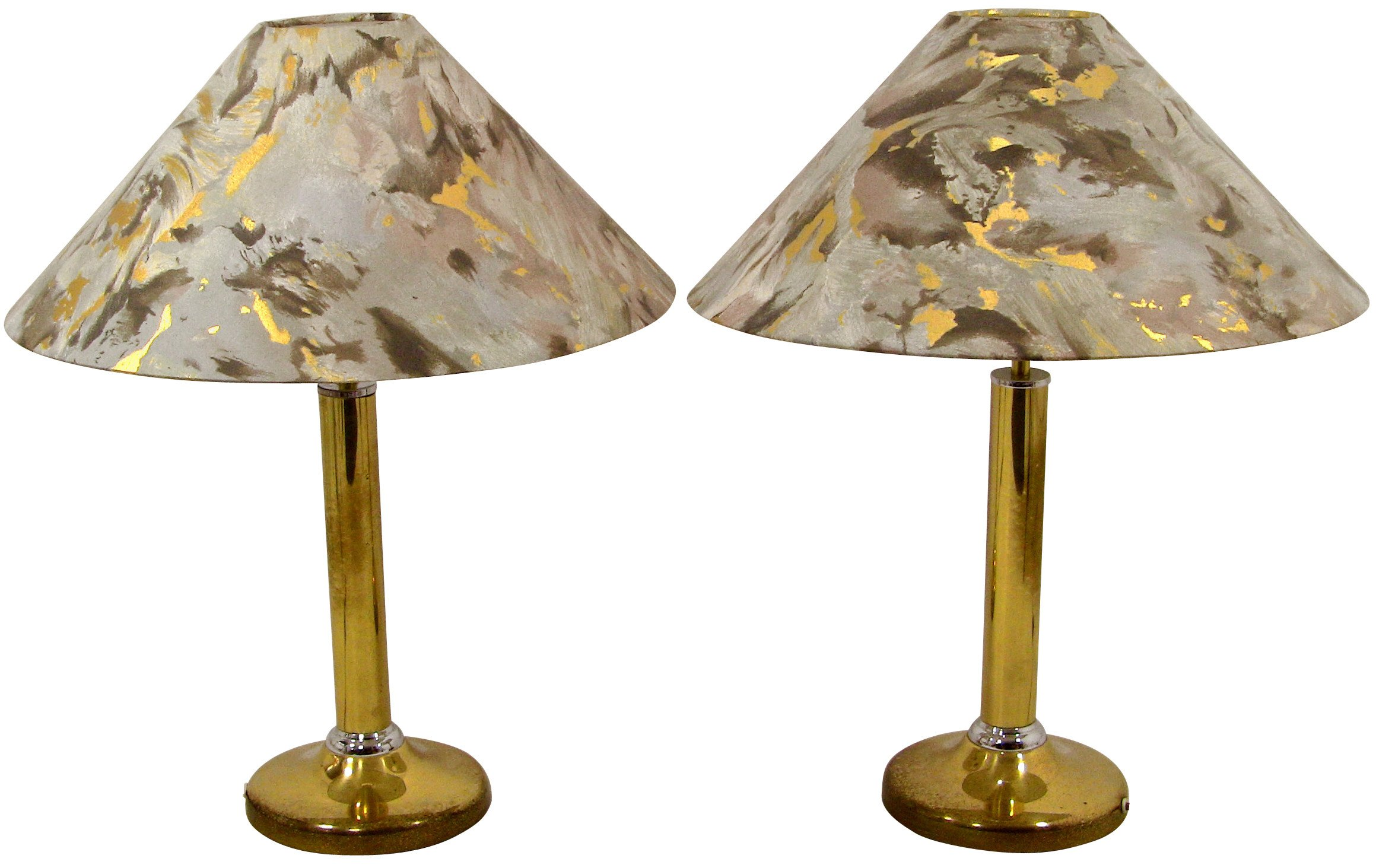 Pair of Bedroom Lamps by J. Busche, 1980s