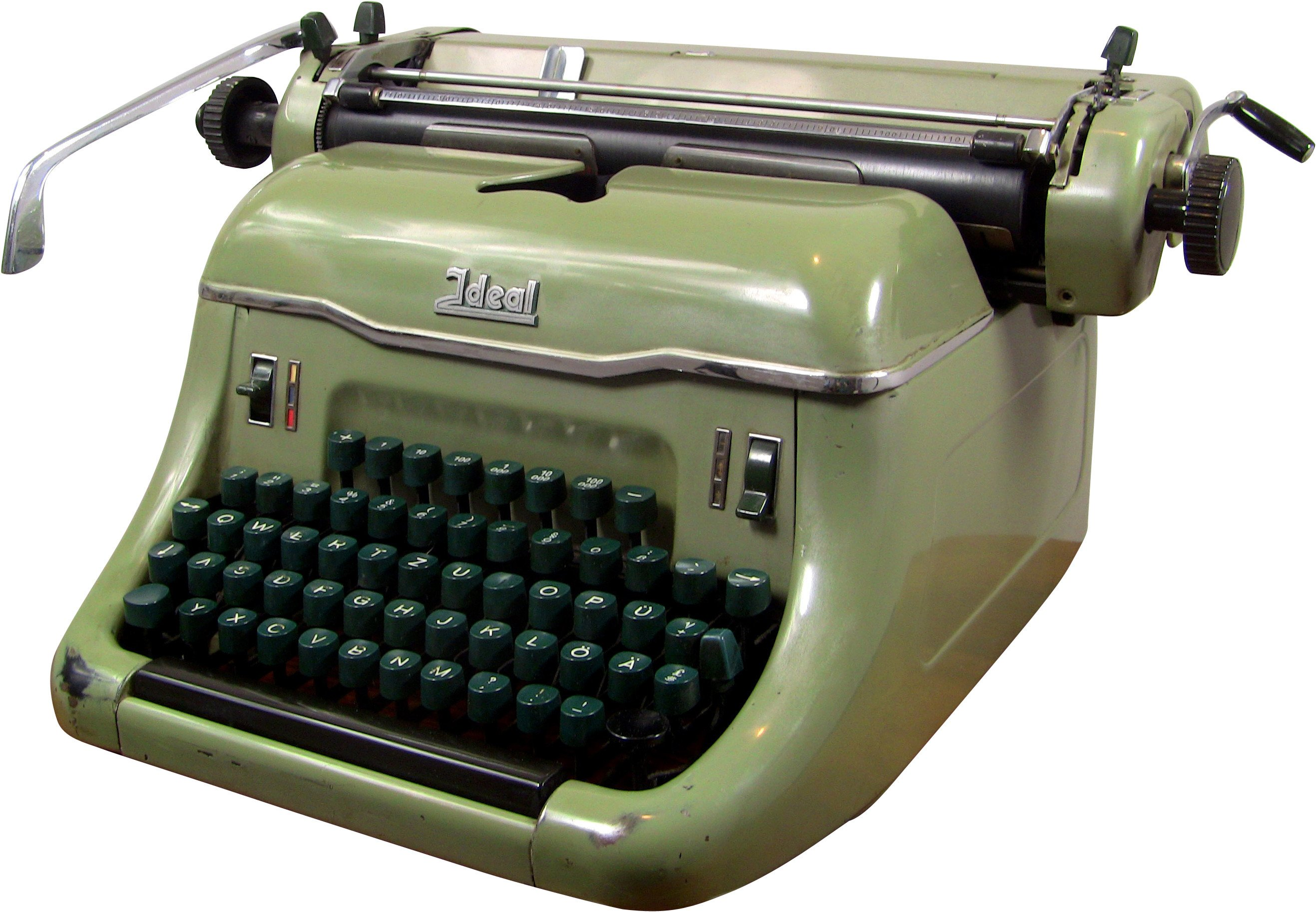 Typewriter, Ideal, Germany, 1960s