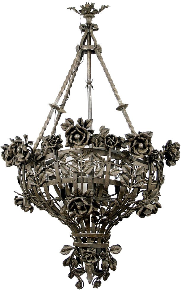 Chandelier, France, 19th c.