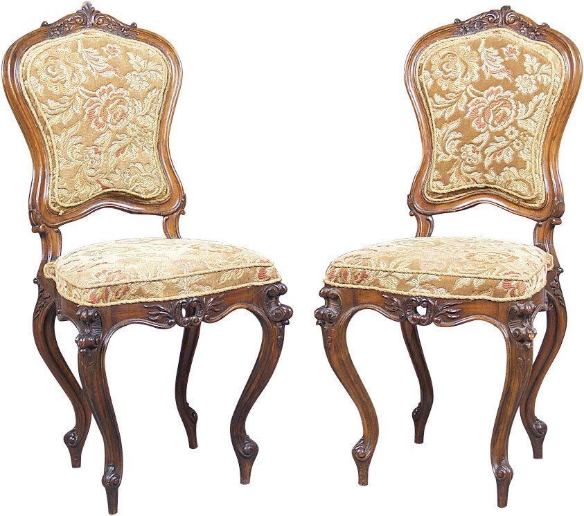 Pair of Chairs, Austria-Hungary, 19th c.