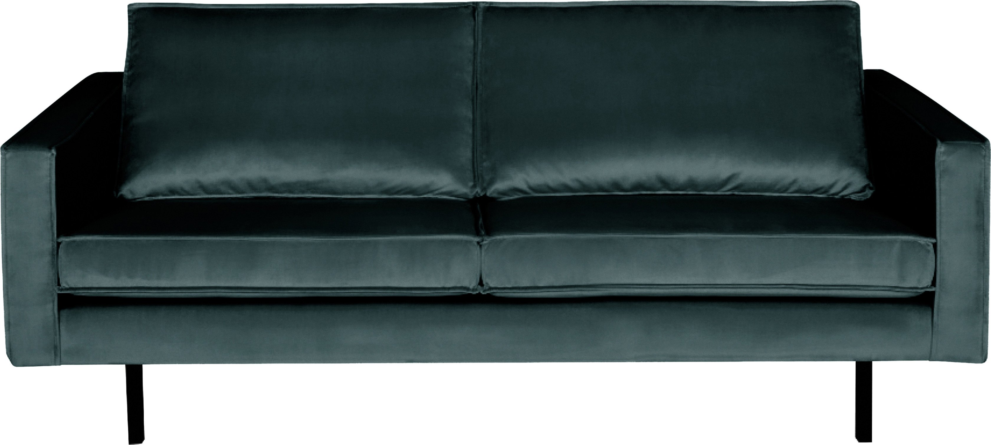 Rodeo Two Seats Sofa Dark Turquoise, Be Pure