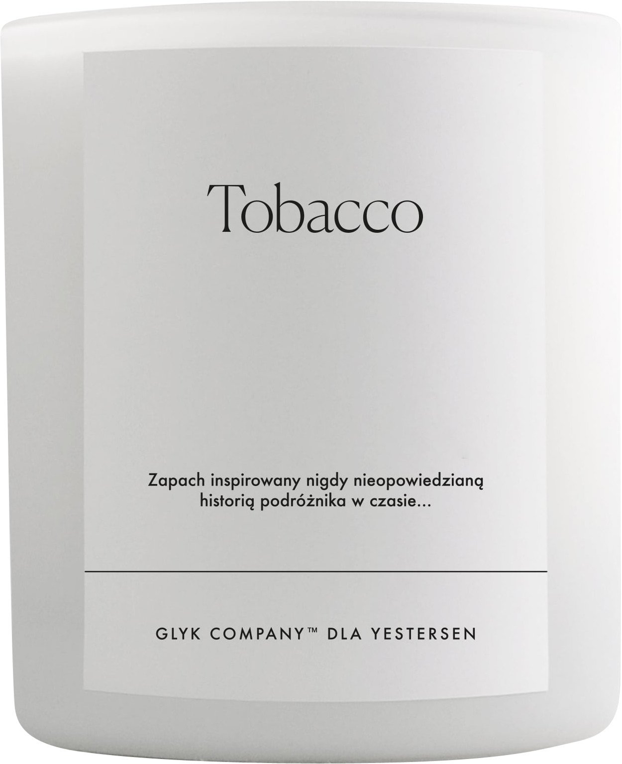 Candle Tobacco, yestersen