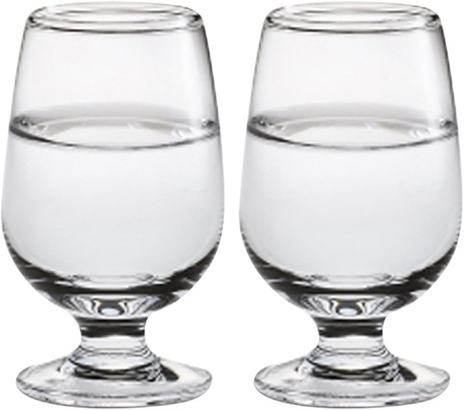 Pair of Det Danske Glas Shot Glasses by T. Jørgensen for Holmegaard