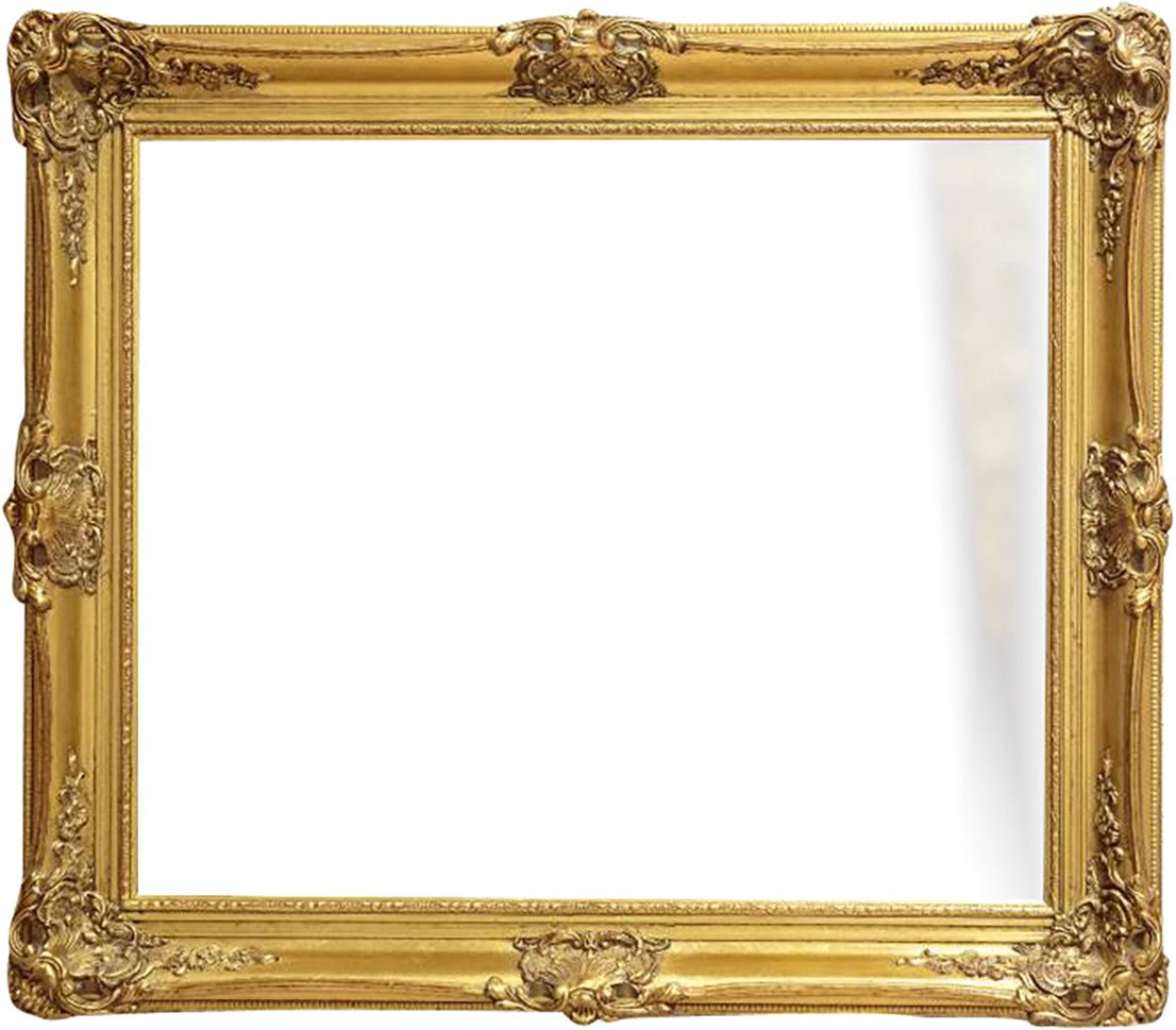 Mirror in a Gilded Frame, France, early 20th C.